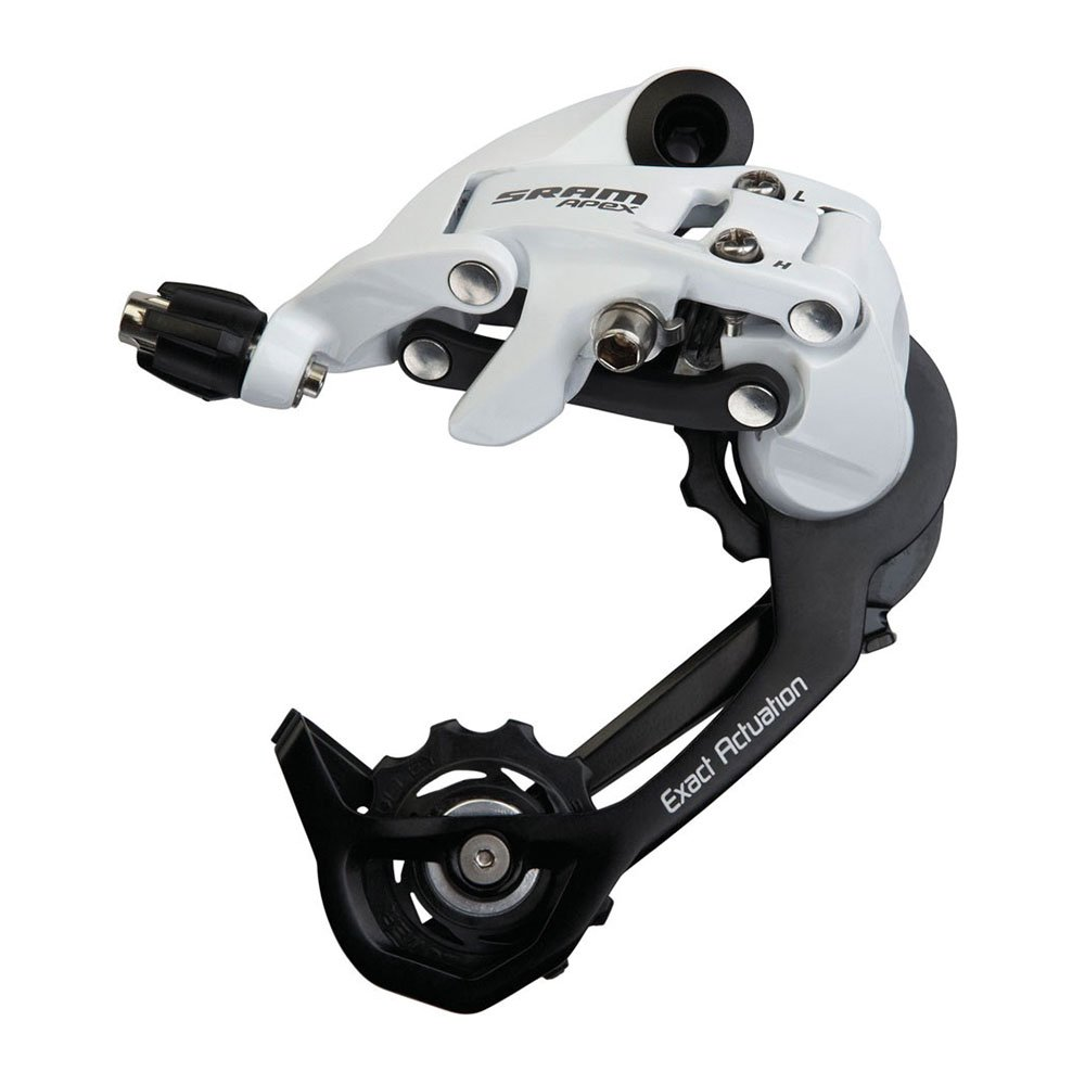 SRAM Medium Cage White 10-Speed Apex Rear Derailleur 151122