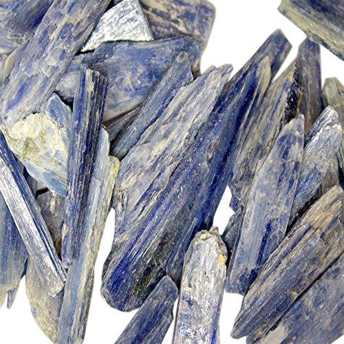 1/2 lb Blue Kyanite Blades - Kyanite Fans - Half Pound of Kyanite Blades Rock Paradise COA
