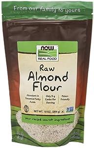 NOW Foods Almond Flour, 10 oz