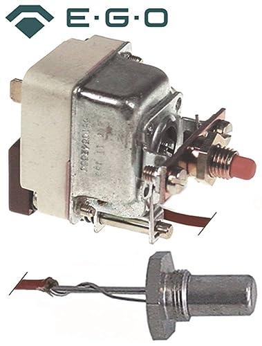 Seguridad Termostato EGO Tipo 55.10542.850, 55.19542.030 para gas de fritura