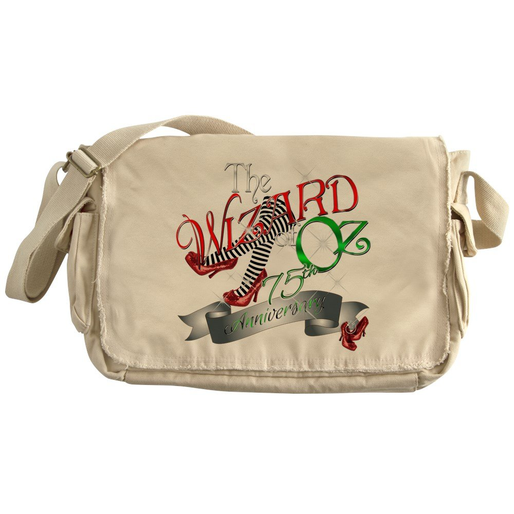 CafePress - 75Th Anniversary Wizard Of Oz Red Shoes Messenger - Unique Messenger Bag, Canvas Courier Bag