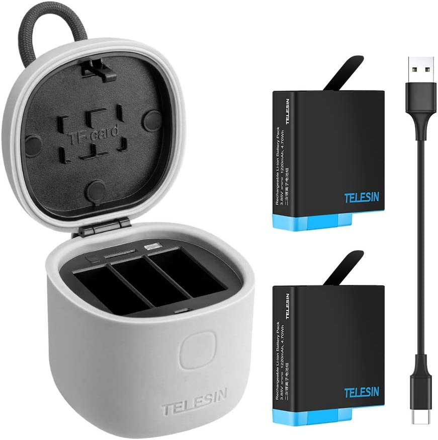 Allin Box Charger & SD Card Reader Kit - Triple Charger