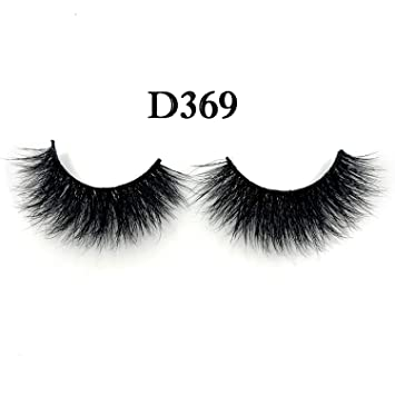 32dd9223dfa Amazon.com: 3pcs/lot 100% real siberian 3d mink fur strip false eyelash  long individual eyelashes 3pairs mink lashes extension,D369: Beauty