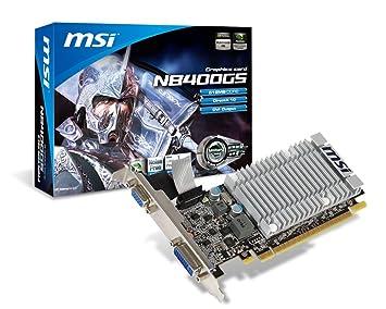 Amazon.com: MSI gráficos tarjeta de video n8400gs-d512h/LP ...