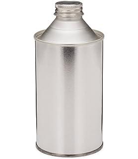 amazon com vestil btl mt 16 tin plated steel round metal bottle