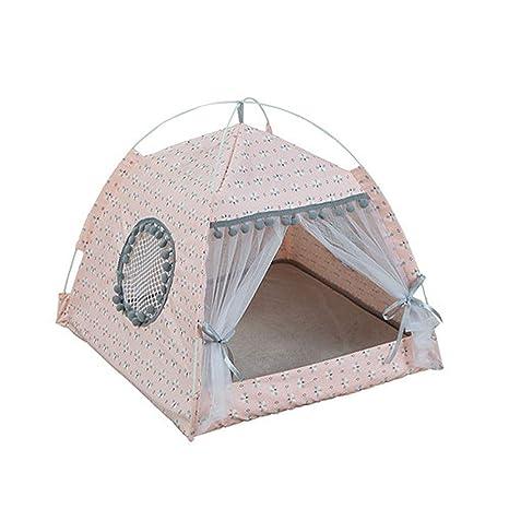 Amazon.com: &liyanan - Tienda de campaña para perros y gatos ...