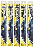 Rain-X 5079278-2-5PK Latitude Wiper Blade, 21' (Pack of 5)