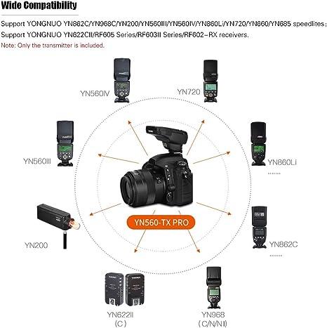 YONGNUO YN560-TX PRO Wireless Flash Transmitter with YN862C Speedlite for Canon Cameras