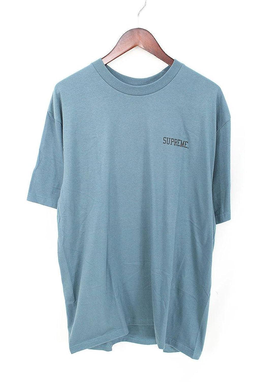 (シュプリーム) SUPREME ×アキラ 【17AW】【Syringe Tee】×AKIRA バックプリントTシャツ(L/ブルー調) 中古 B07FMLH2FK  -