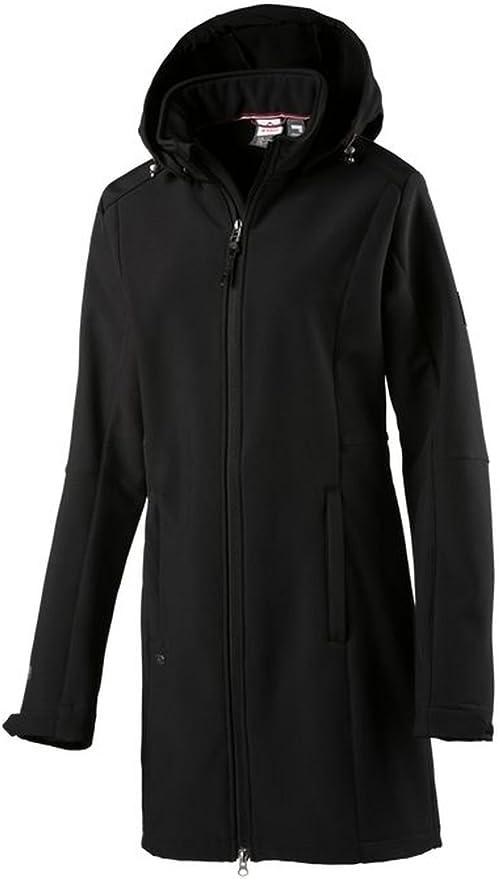 Megan Softshell femme FR 42 Manteau pour McKinley noir zVqLpSUMG