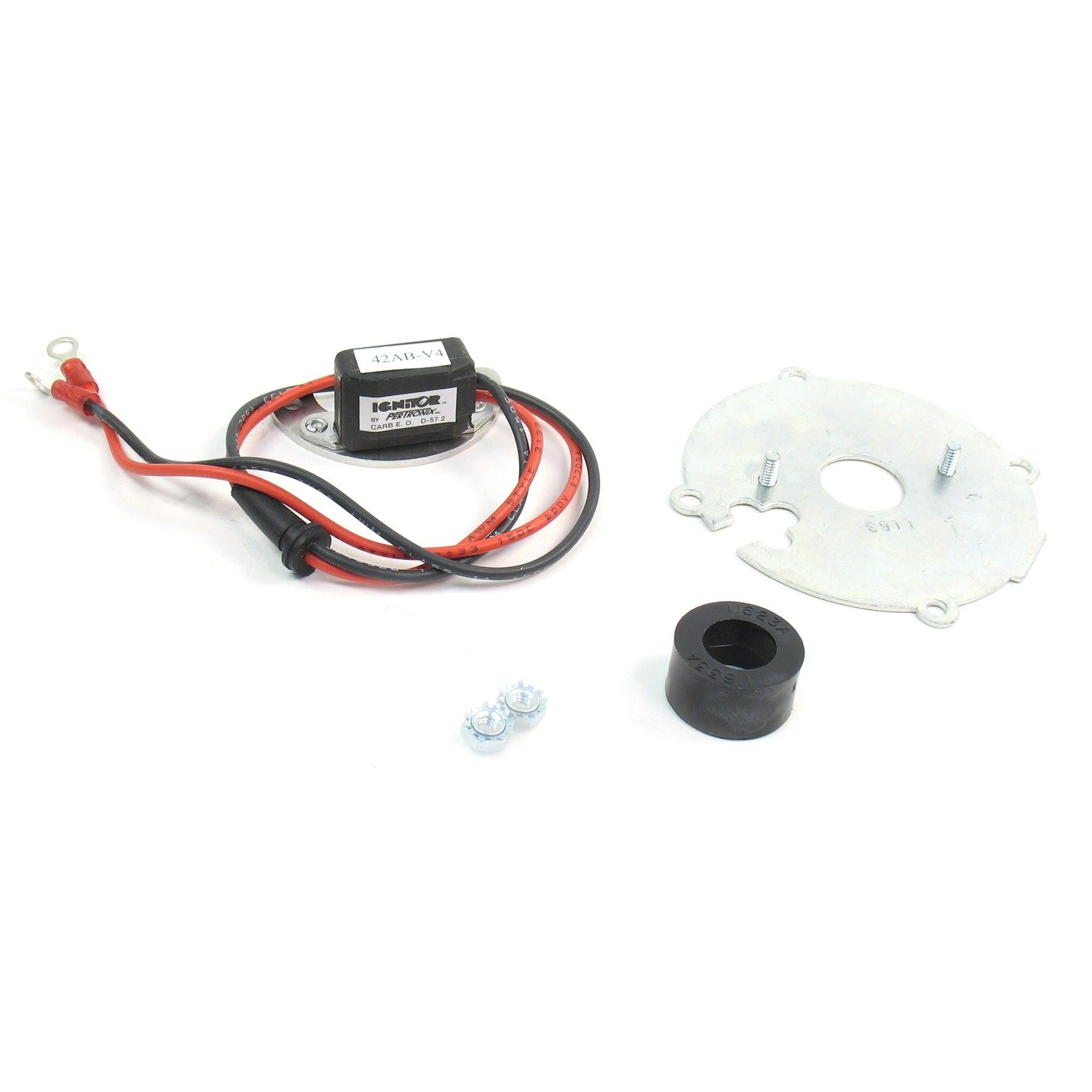 Pertronix 1163a Ignitor For Delco 6 Cylinder With Wire Alternator Wiring File Name Ac Mechanical Advance Automotive