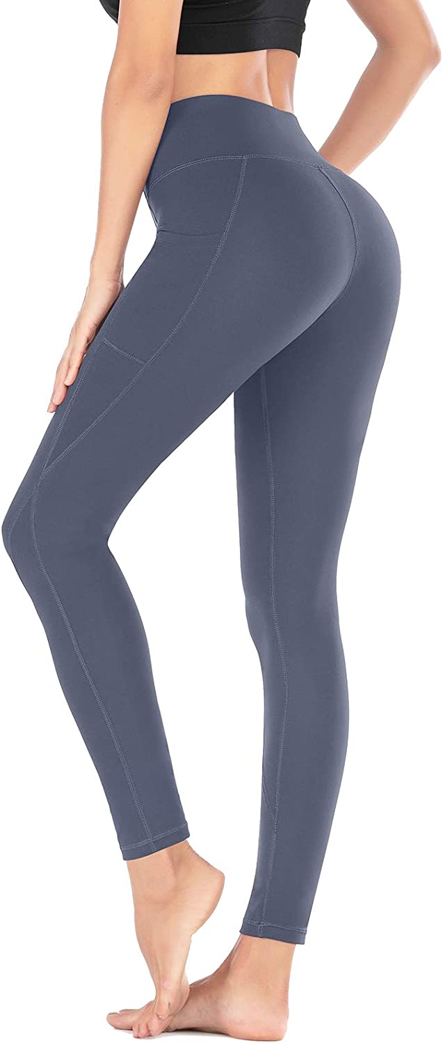 Heathyoga Yoga Pants for Women with Pockets High Waisted Leggings with Pockets for Women Workout Leggings for Women: Clothing
