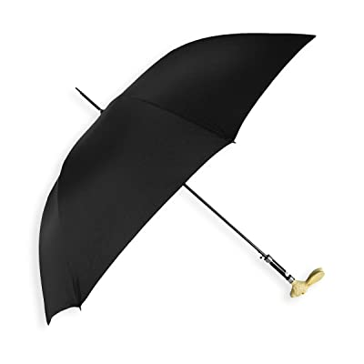 Concord Rabbit Handle Black Stick Umbrella 85%OFF