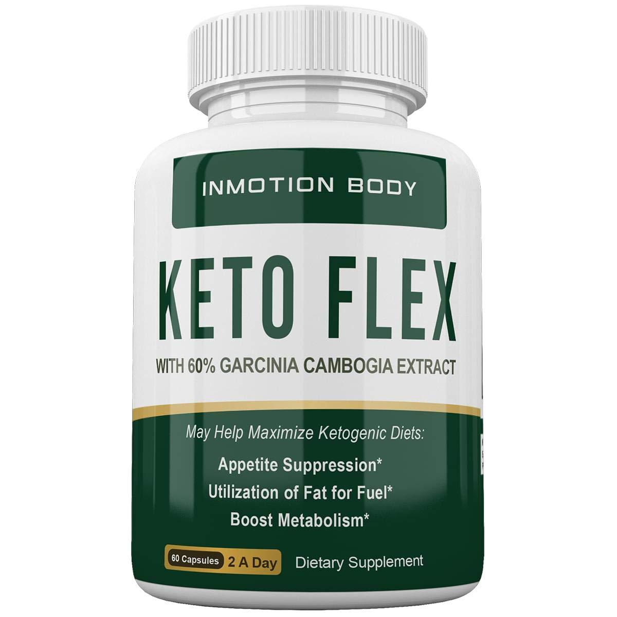 Keto Flex Weight Loss Pills W/Garcinia Cambogia Extract - 30 Day Supply