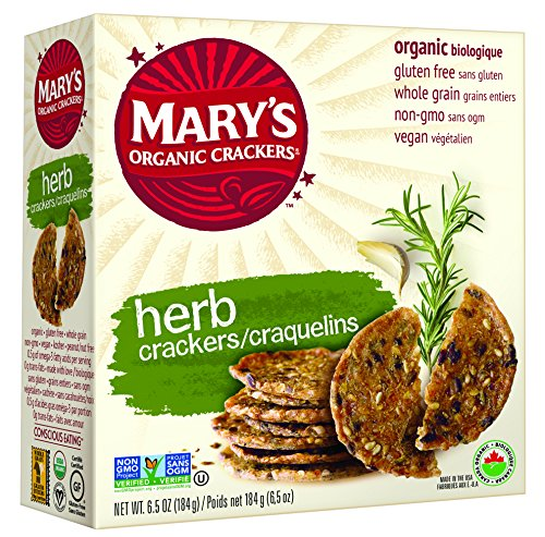 Mary's Gone Crackers, Herb, 6.5 Ounce (Pack of 12)