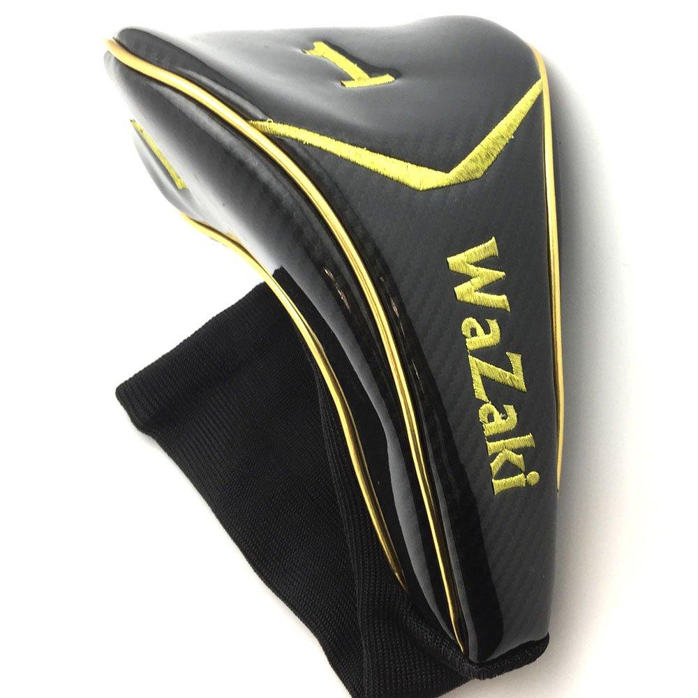 wazaki Japan Gold Finish Cyclone II Driver Golf Club+Headcover(10.5 Degree Loft,Close Face Angle,Right Handed,Pro Regular Flex,260 CPM) by wazaki (Image #6)