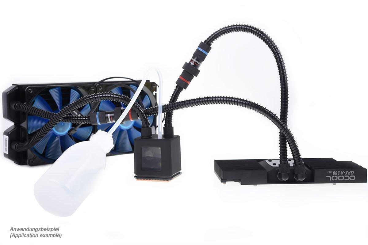 Alphacool 12563 Negro Hardware - Accesorio de refrigeración (320 ...