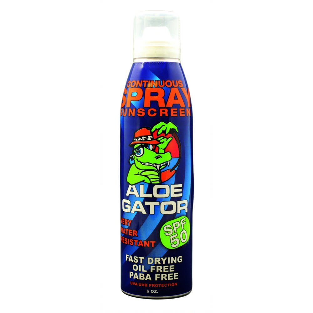Aloe Gator Sun Care Adult Continuous Spray 13716