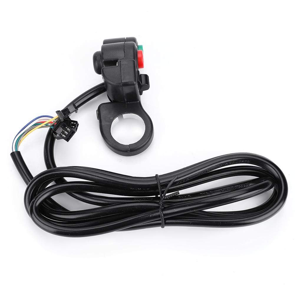 3-in-1 Bicycle Light Horn Turn Switch Control Button for E-Bike Motorcycle Scooter Bike Handlebar Switch