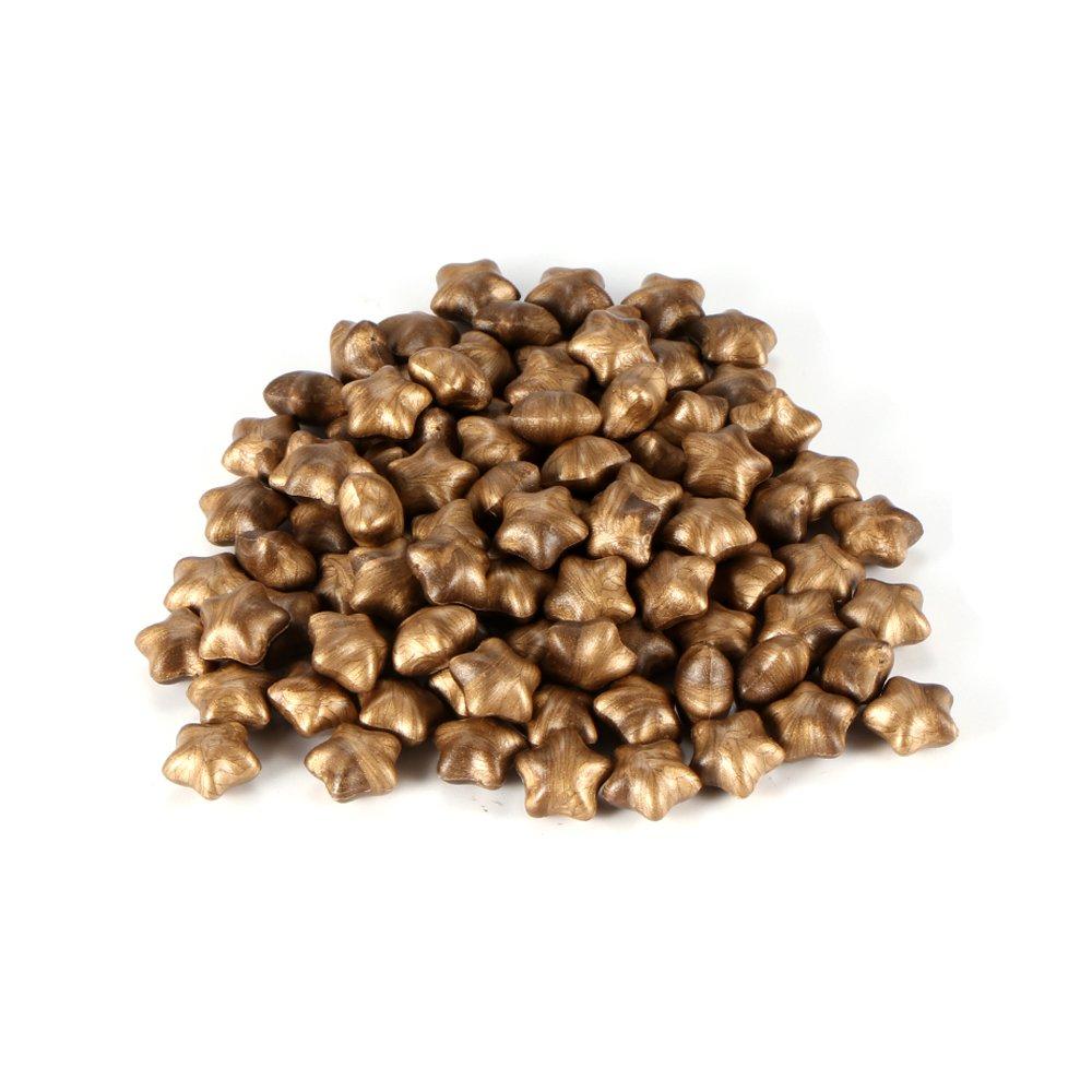 Bronze Houkiper 100 pezzi Star Shape Sigillatura perline di cera per sigillo di documenti timbro di cera