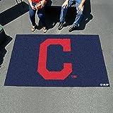 "MLB - Cleveland Indians """"Block-C"""" Ulti-Mat 60""""x96"""""
