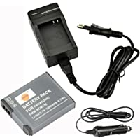 DSTE Repuesto Batería y DC145E Viaje Cargador kit para Panasonic DMW-BCM13E DMW-BCM13PP Lumix TF5/DMC-TS5/DMC-TZ40/DMC-TZ41/DMC-ZS27DMC-ZS30DMC-ZS35DMC-FH27ZS45ZS50Cámara
