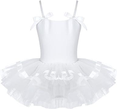 Agoky Baile de Ballet Vestido de Niña Maillot Traje de Ballet Tutú ...