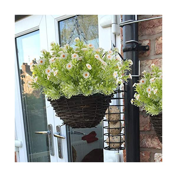 MHMJON-4pcs-Artificial-Daisy-Flowers-Bunches-Fake-Floral-Bouquets-Faux-Plastic-Greenery-Plants-Indoor-Outdoor-Home-Kitchen-Office-DIY-Hotel-Table-Centerpieces-Decoration