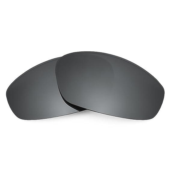 HKUCO Mens Replacement Lenses For Oakley Whisker Sunglasses Titanium Mirror Polarized wZXaSQ9