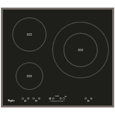Whirlpool - Placa de inducción acm332/ba con 3 zonas booster