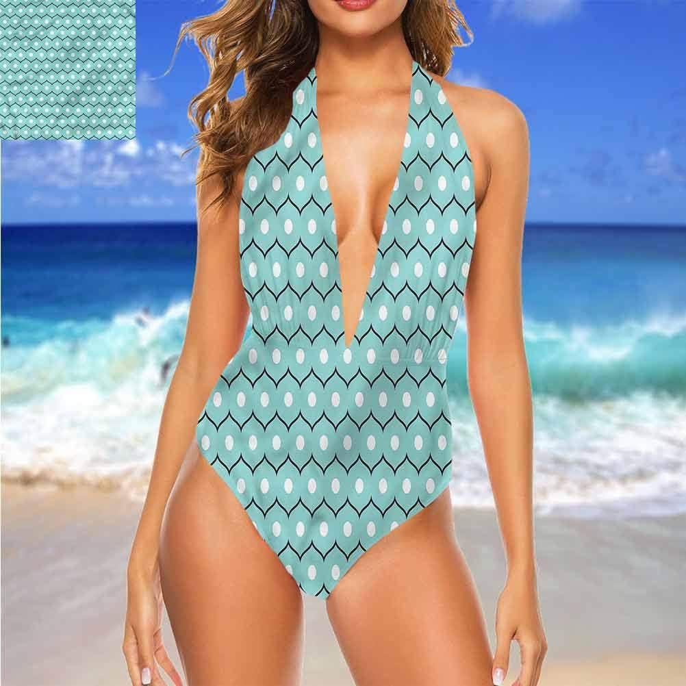 Maillot de bain de plage abstrait abstrait pour enfant joyeux abstrait excellent pour un voyage à Hawaï Multi 13.