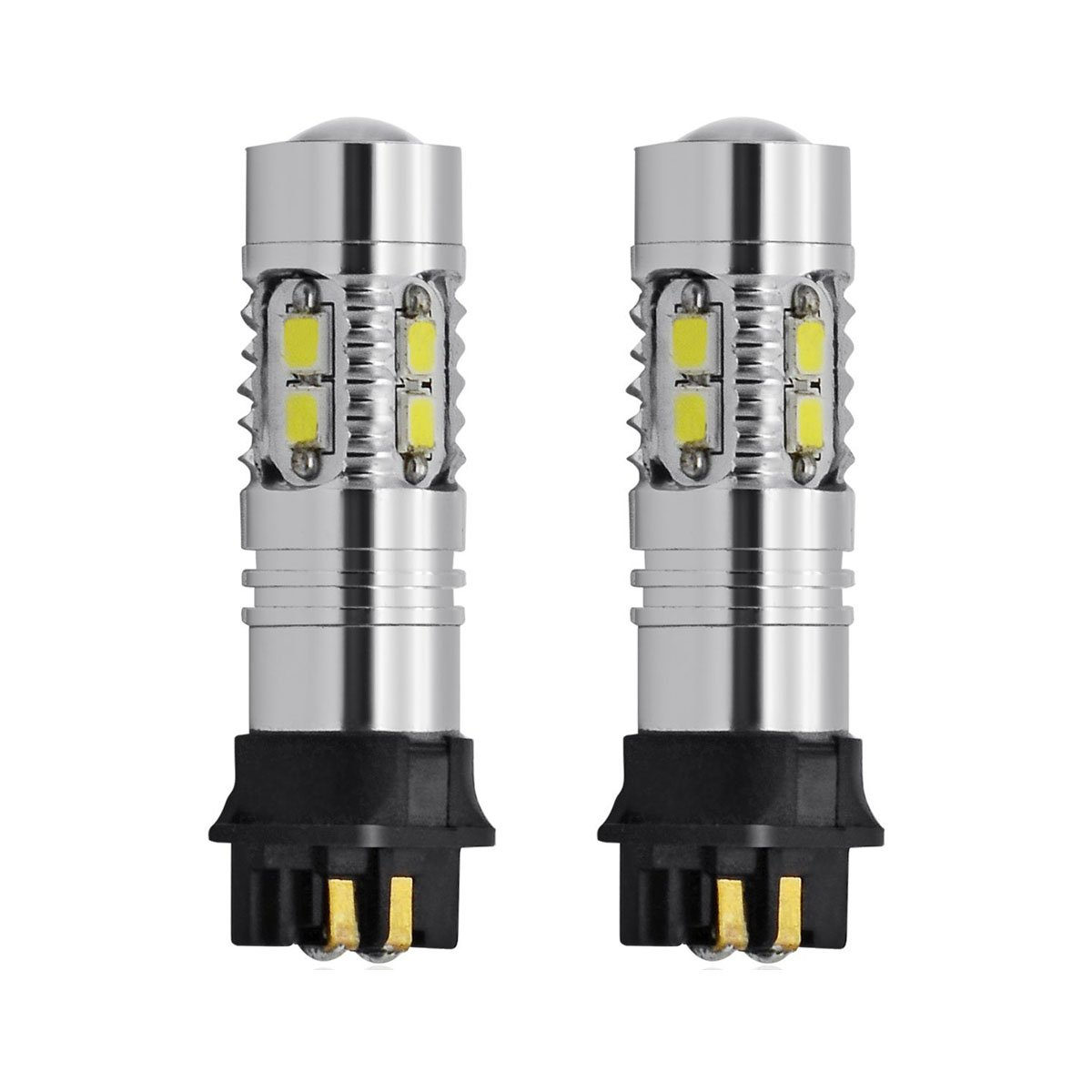 2 Pi/èces 10W X/énon blanc PW24W PWY24W 10 SMD SAMSUNG LED Feux de jour DRL//Feux de position//Blinker