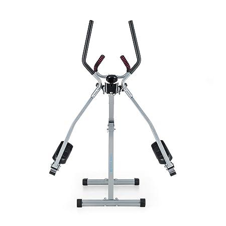Capital Sports Crosswalker Caminador elíptico (elíptica para Movimientos Verticales y horizontales, Entrenamiento en casa, Ordenador con Pantalla LCD, ...
