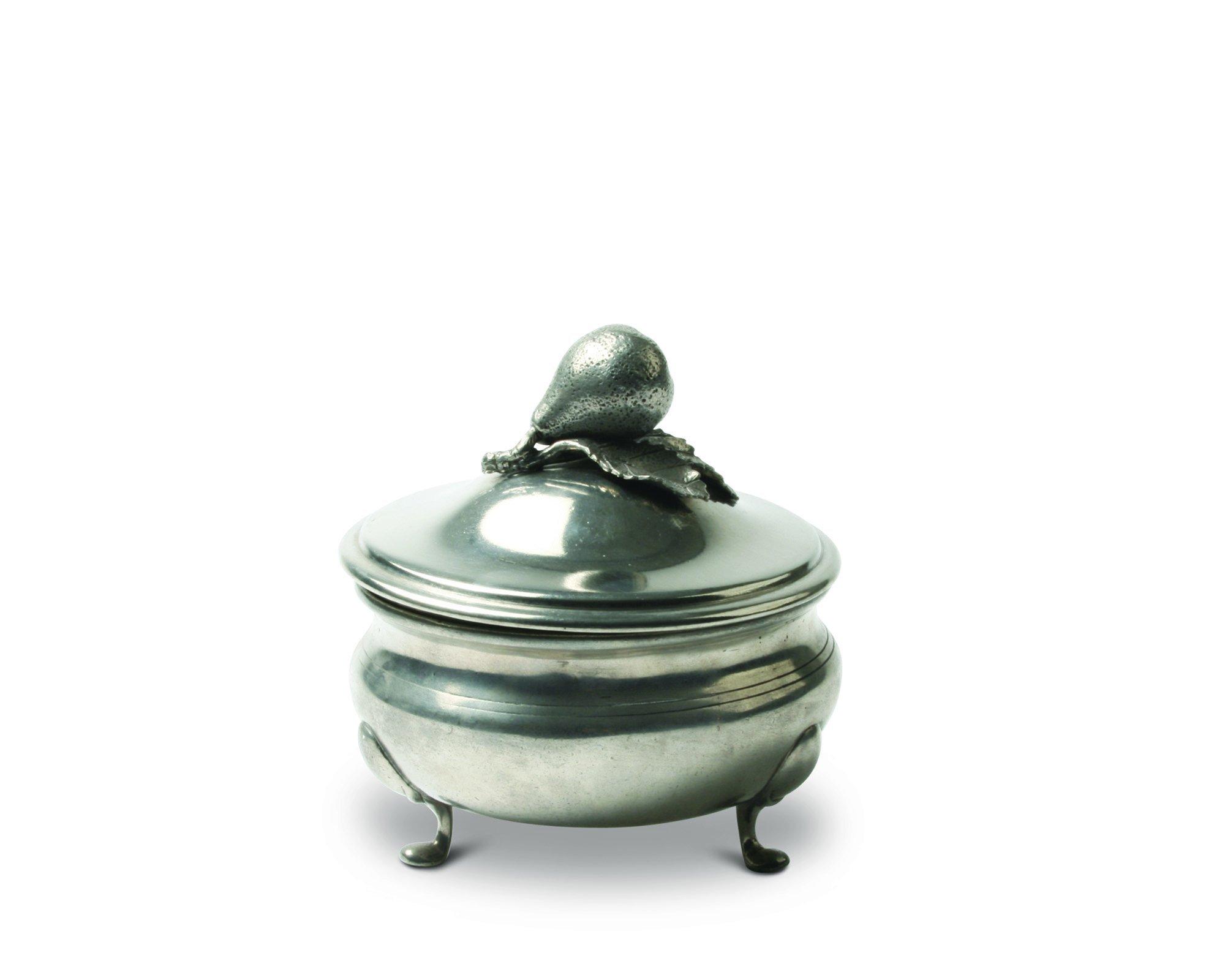 Vagabond House Pear Pewter Sauce Bowl 5'' Diameter x 6'' Tall