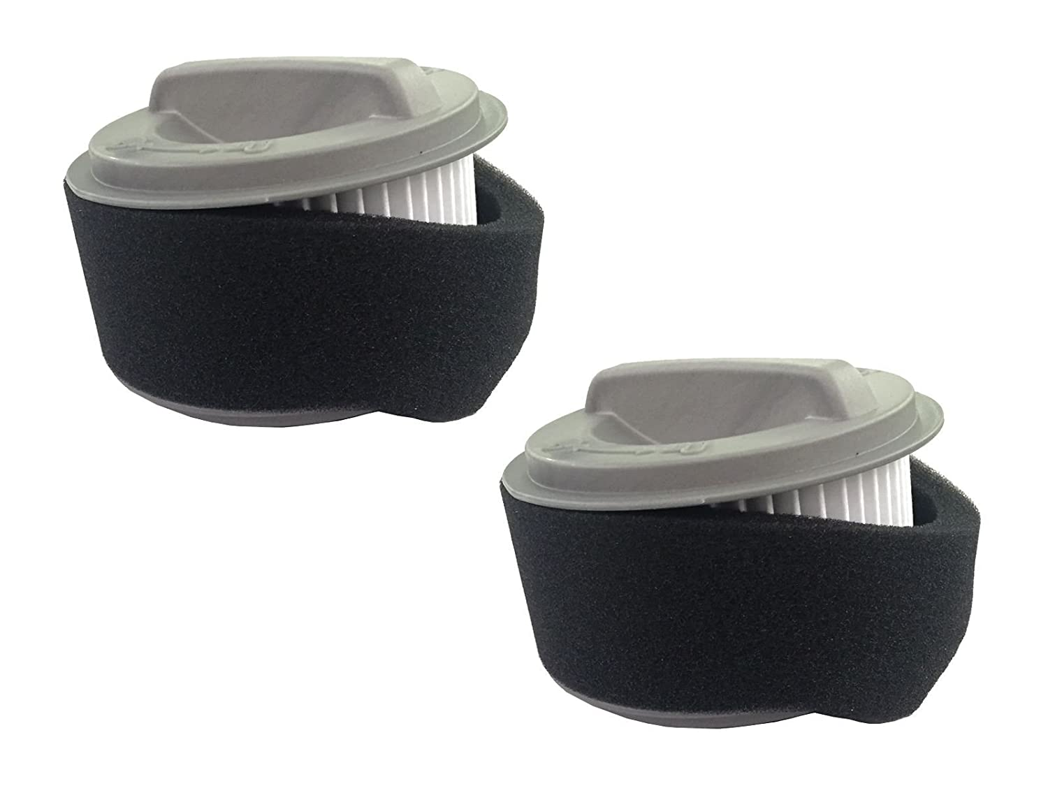 (2) Bissell 203-7593 Circular Filter Assembly for EasyVac 2037593 Genuine - NEW""