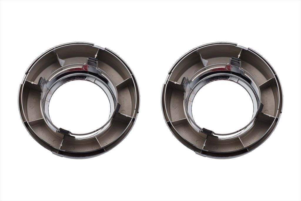 1995-1997 Ford F150 F250 F350 4x4 Chrome Front Wheel Hub Cover Center Caps OEM by Ford (Image #3)