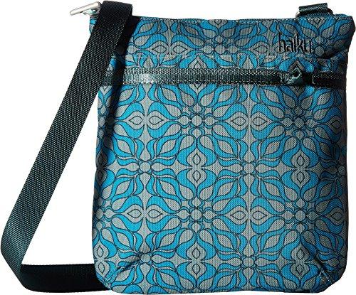 Haiku Women's Revel Eco Crossbody Bag, Sea Blue Geo (Eco Fabric)