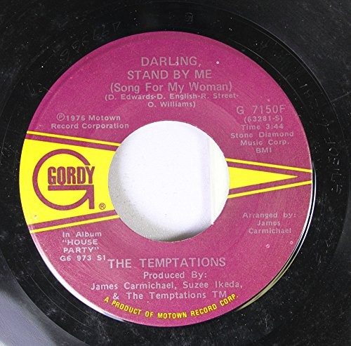 THE TEMPTATIONS 45 RPM DARLING STAND BY ME / UP THE CREEK