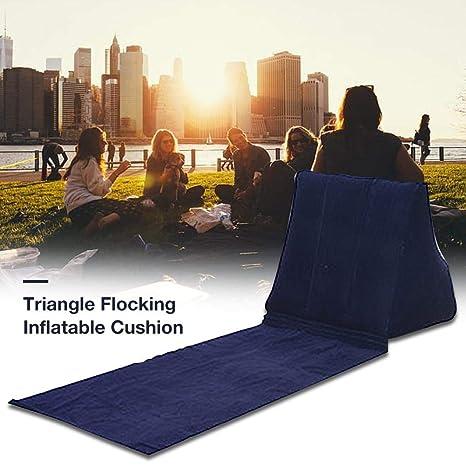 Cojines de triángulo inflables para Acampar al Aire Libre ...