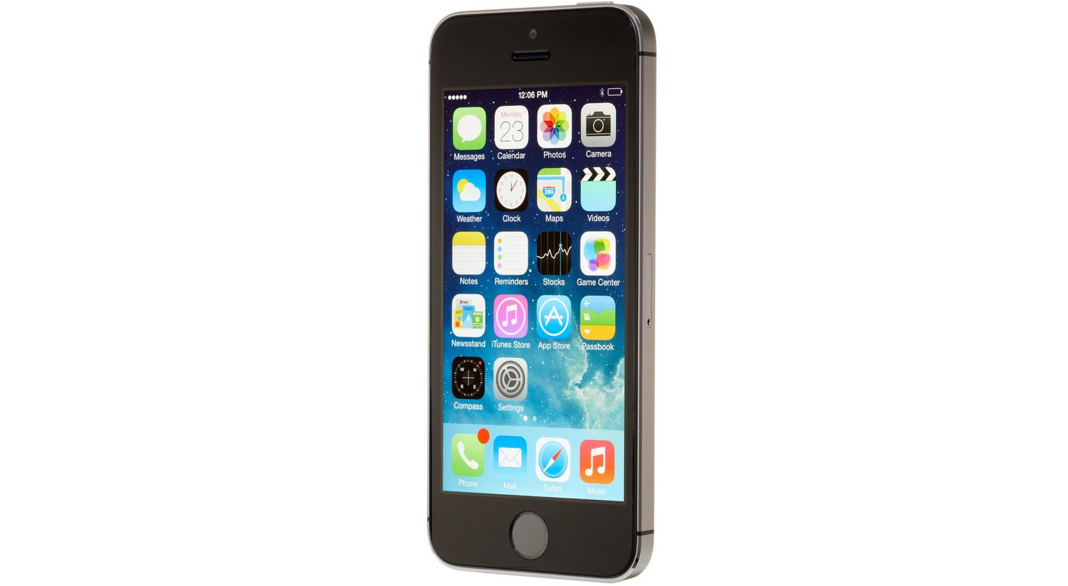 903ea33f0606b0 Apple iPhone 5S 32GB Factory Unlocked GSM Cell Phone - Gray - 5S 32GB GRAY  < Computers Features < Electronics - tibs