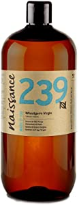 Naissance Virgin Wheatgerm 32 fl oz - Pure, Natural, Cold Pressed, Vegan and Hexane Free and Non GMO