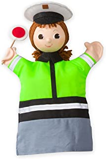 product image for Magic Cabin Career Hand Puppets - Police Officer 3.15 L x7.48 W x 11.02 H