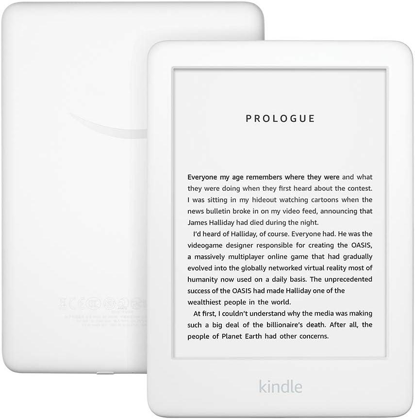 Kindle con luz frontal incorporada - Blanco
