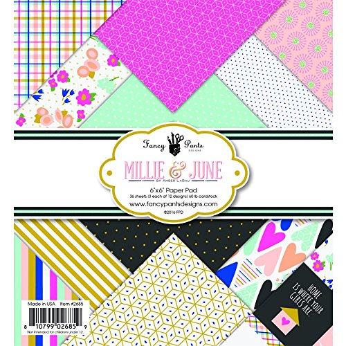 - Fancy Pants Designs Millie & June 6x6 Pad 6