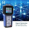 Digital Signal Generator, Handheld Signal Frequency Meter, 30MHz 2 Channel Generator Counter with for Signal Generator Measurement,S4R2 AC110-220V(Blue)