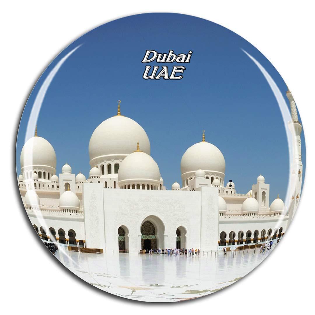 UAE Travel Souvenir Flexible Fridge Magnet ABU DHABI AIRPORT