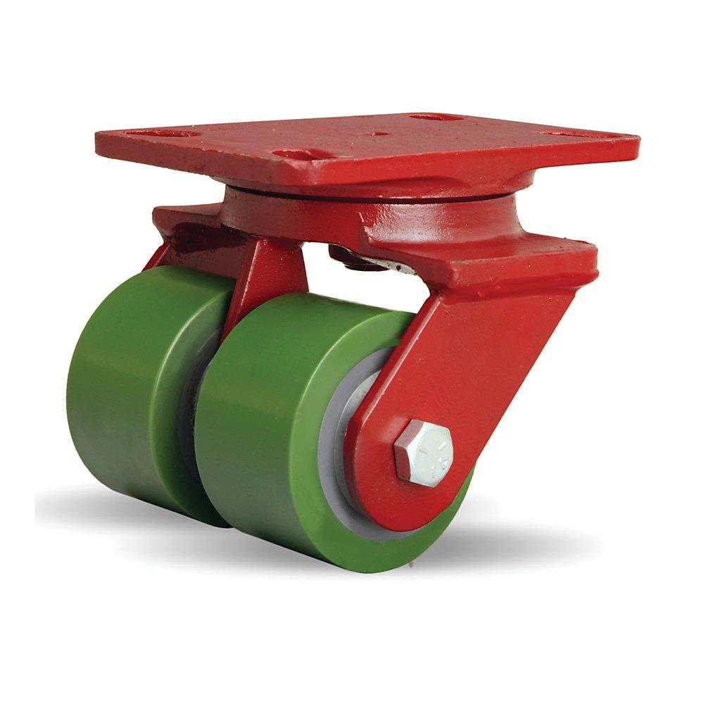 Hamilton S-HS2-3D Swivel Caster HS2 3-1//4X2 DURALAST 1150 Crimson Red Hamilton Caster /& Mfg Co.