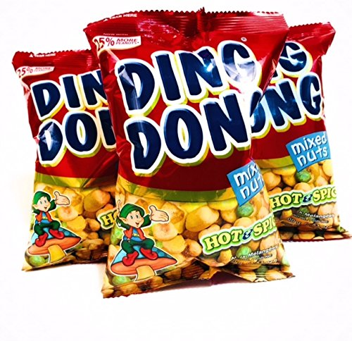Amazon.com : Ding Dong Snack Mix Pack of 3 : Snack Mixed ...