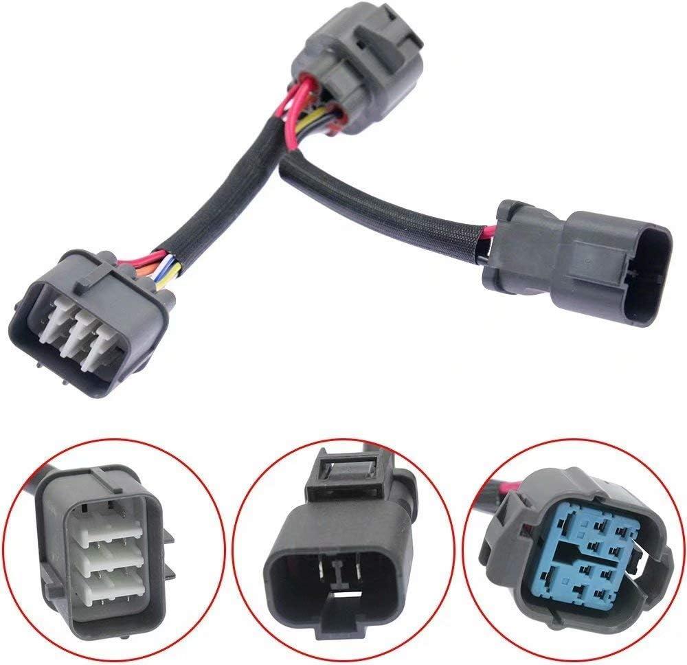 Amazon.com: Engine Harness OBD1 to 10 Pin OBD2 Distributor ... on toyota pickup wiring harness, nissan altima wiring harness, nissan 240sx wiring harness, buick lesabre wiring harness, geo tracker wiring harness, honda fit wiring harness, mazda rx7 wiring harness, acura integra radio wiring diagram, hummer h2 wiring harness, honda pilot wiring harness, subaru forester wiring harness, ford explorer wiring harness, mazda 3 wiring harness, honda s2000 wiring harness, buick skylark wiring harness, acura legend wiring harness, ford f150 wiring harness, ford mustang wiring harness, pontiac bonneville wiring harness, infiniti g35 wiring harness,