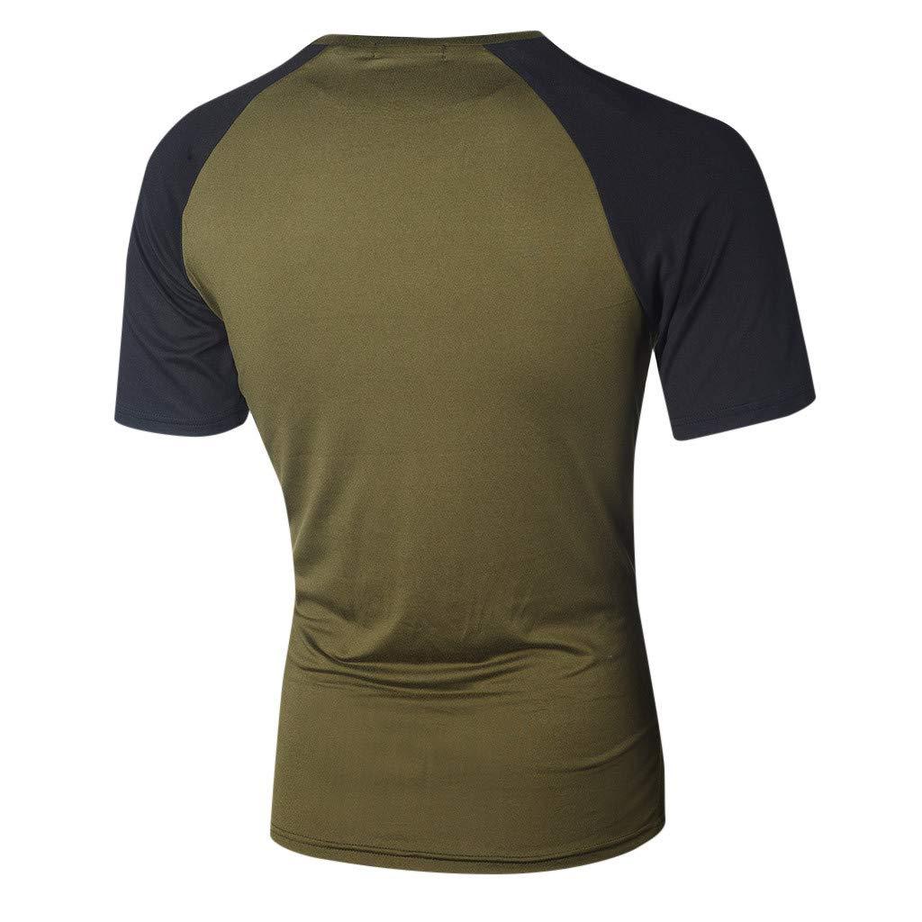T Shirts for Men,AOJIAN Short Sleeve Shirts Camouflage Rashguard Tunic Blouses Vest Tank Tops